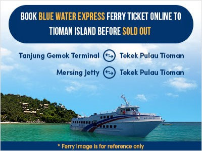 Blue Water Express Ferry to Tioman Island