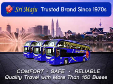 Sri Maju is one of the most trusted express bus brand