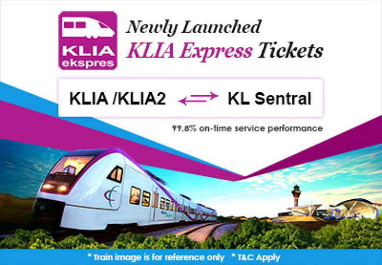KLIA Express train tickets are now available on Easybook