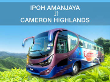 Ipoh to Cameron Highlands Bus Tickets Online