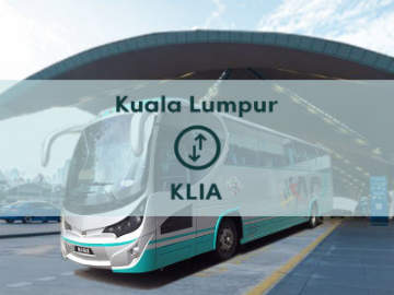 Bus from KL Sentral to KLIA Airport