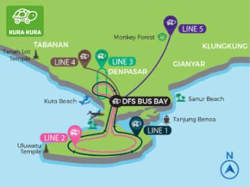 Bali Kura-Kura Bus 3-Day Pass and 7-Day Pass