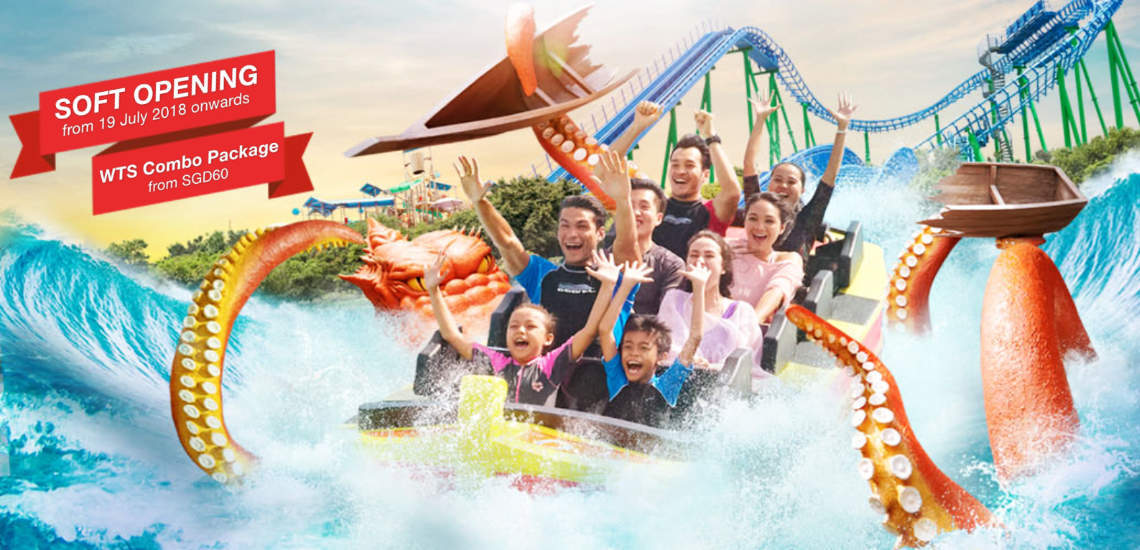 Desaru Coast Adventure Waterpark Combo Package by WTS Travel