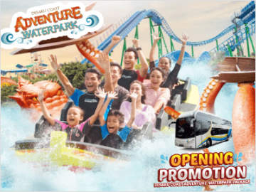 WTS Travel's Desaru Coast Adventure Waterpark Package Promotion