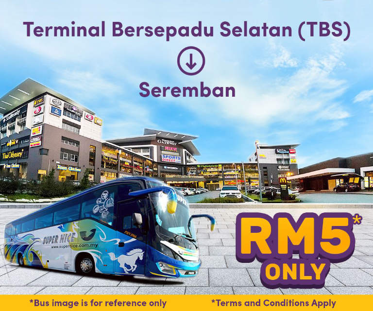 Supernice Grassland from TBS to Seremban