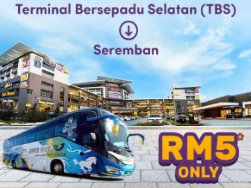 RM5 Bus from TBS to Seremban by Supernice Grassland