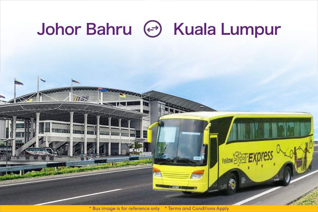 Yellow Star Express from JB Larkin to Terminal Bersepadu Selatan