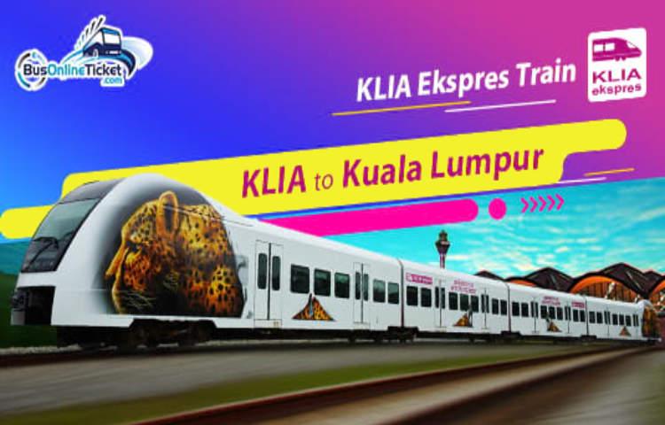 KLIA Ekspres Tickets available on BusOnlineTicket.com