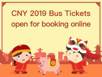 CNY 2019 Bus Tickets available online