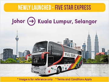 KPB Express 24-Seater Bus from Butterworth to Kuala Lumpur