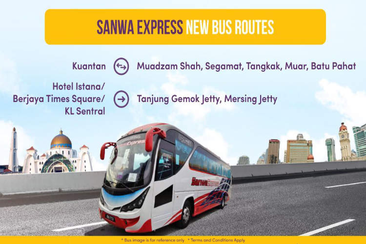 Book Sanwa Express Bus Tickets Online via Easybook.com