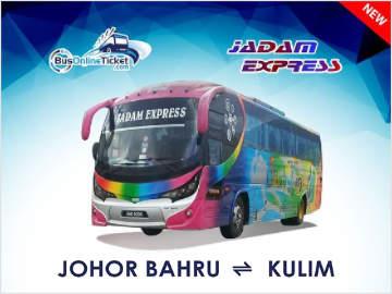 Johor Bahru to Kulim by Jadam Express