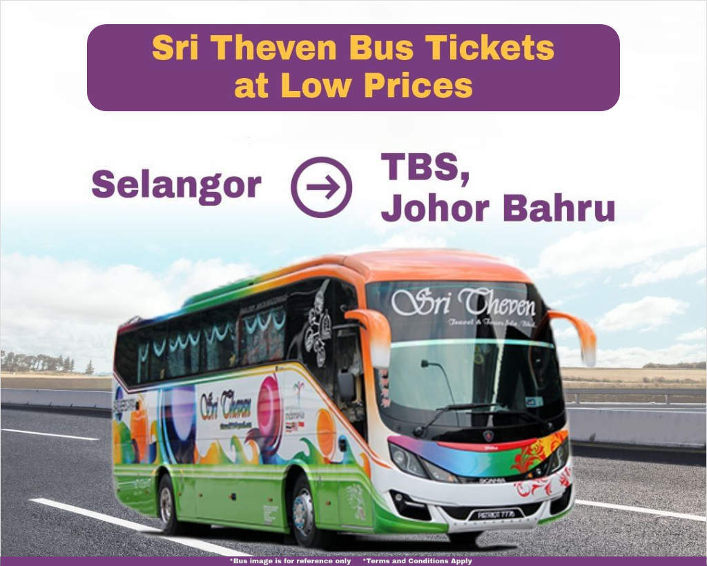 Selangor to TBS and Johor Bahru by Sri Theven