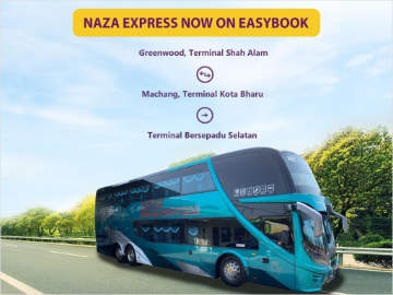 Naza Express Bus Tickets available at Easybook