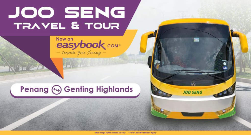 Express Bus from Penang to Genting Highlands by Joo Seng Travel
