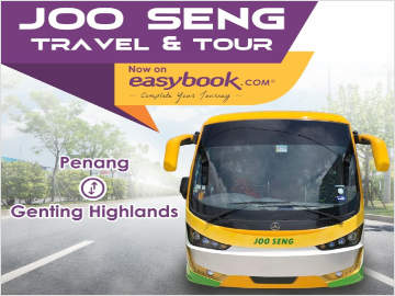 Express Bus from Penang to Genting Highlands