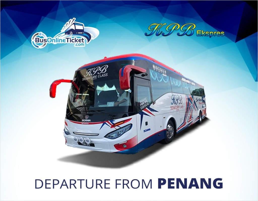 KPB Express from Penang to Kuala Lumpur & Malacca