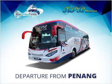 KPB Express from Penang to Kuala Lumpur and Malacca