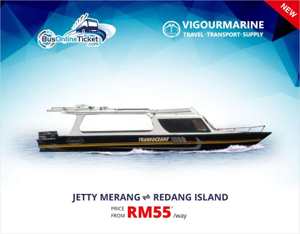 Merang Jetty to Redang Island Ferry - Vigourmarine