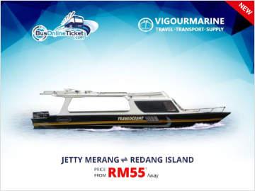 Merang Jetty to Redang Island Ferry