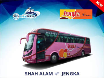 Jengka Liner Bus Tickets Available Online at BusOnlineTicket.com