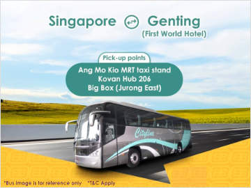 Singapore to Genting Highlands Bus by Cityline Travel