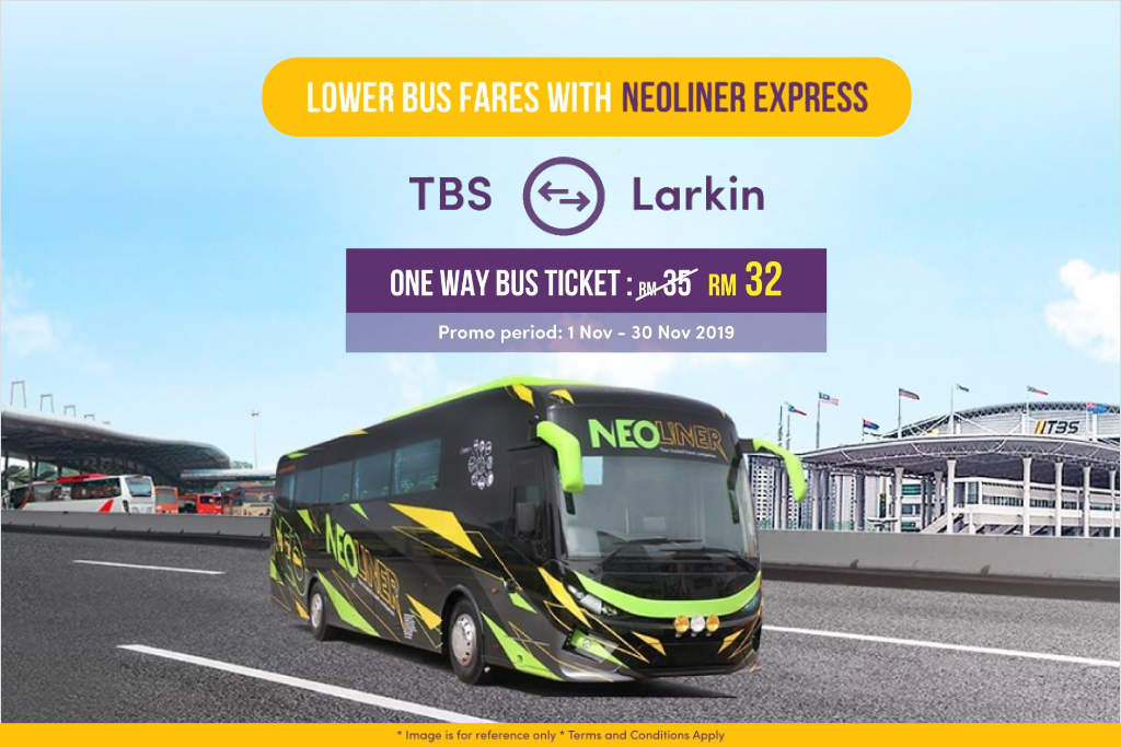 TBS to JB Larkin Bus Promo by Neoliner