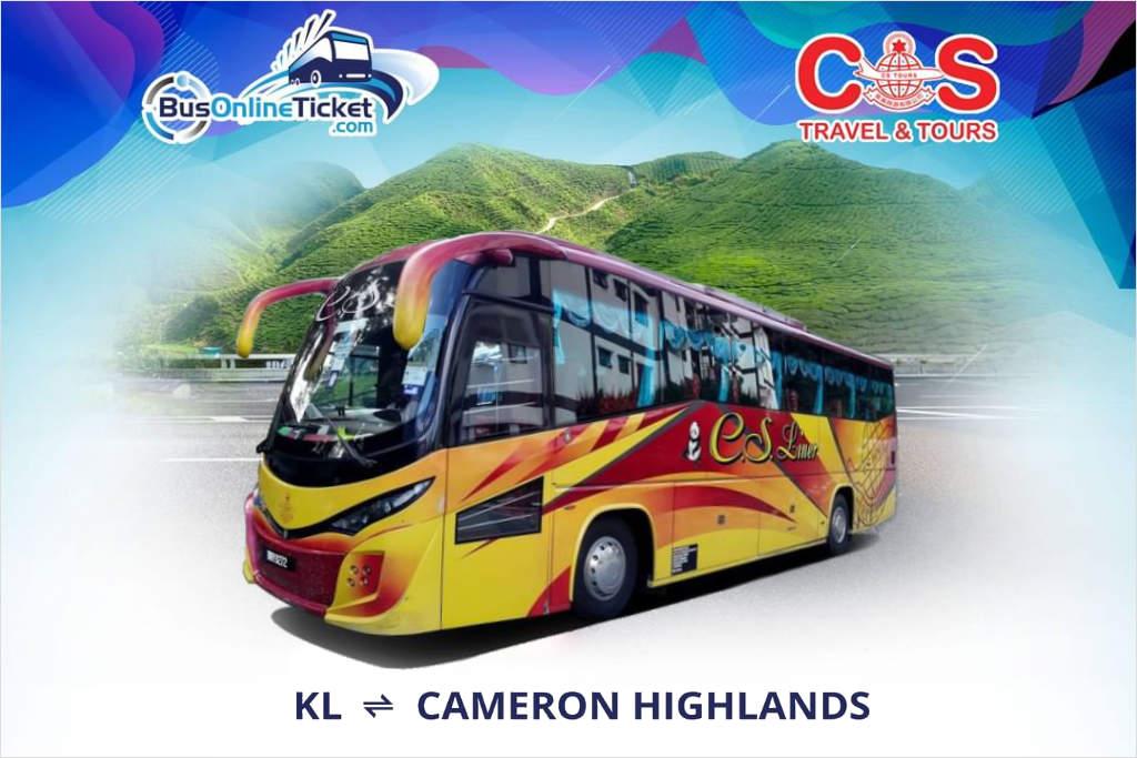 Kuala Lumpur to Cameron Highlands by CS Travel