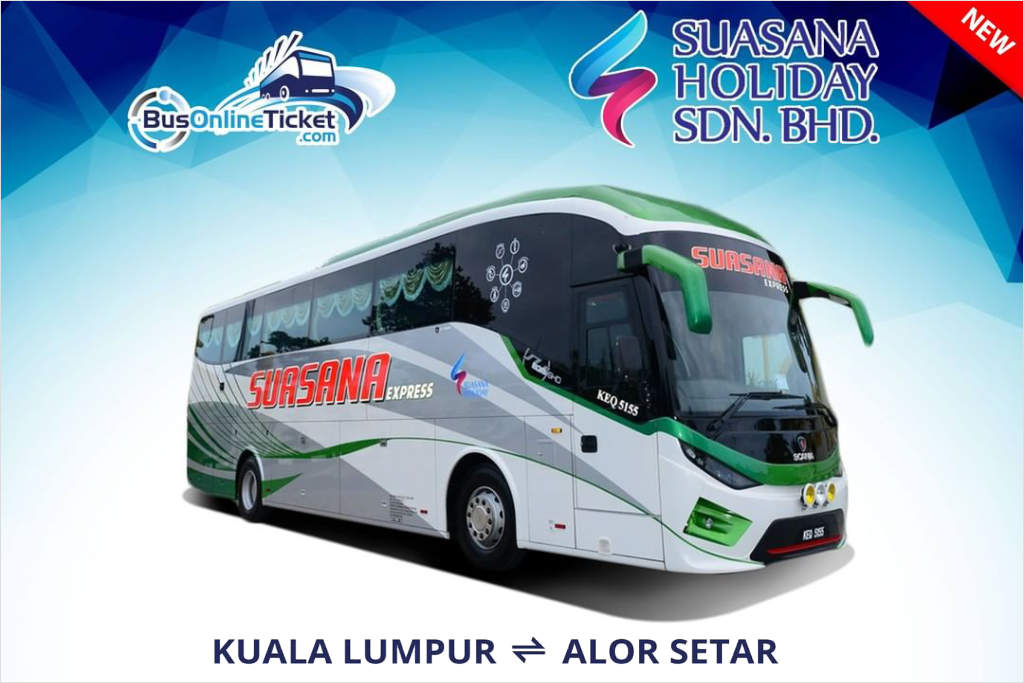 Kuala Lumpur to Alor Setar by Suasana Express