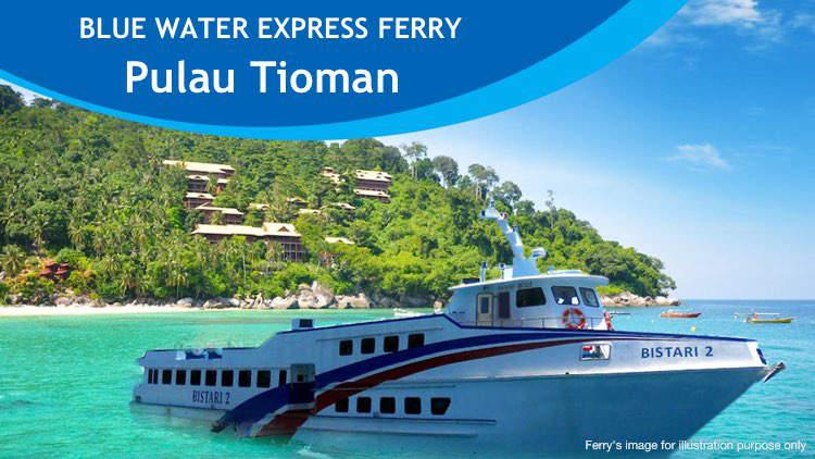 Blue Water Express Ferry to Tioman Island
