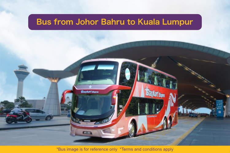 Bus from Johor Bahru to Kuala Lumpur