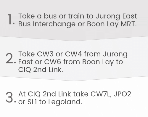 Going by Public Bus to Legoland in 3 Easy Steps