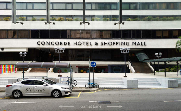 Concorde Hotel Orchard Taxi Stand