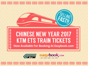 CNY 2017 KTM ETS train tickets now available at Easybook