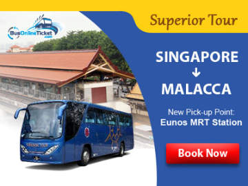 Express Bus from Eunos MRT to Malacca