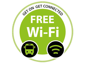 Free WiFi Access on Grassland Express Buses