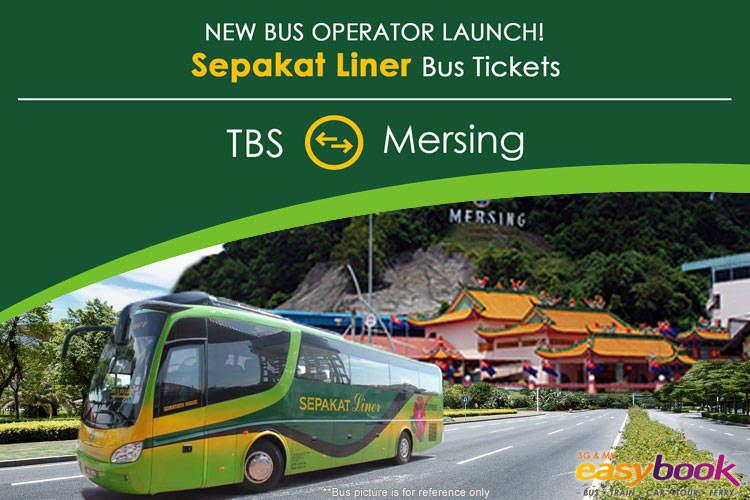 Sepakat Liner: TBS Kuala Lumpur ⇌ Mersing