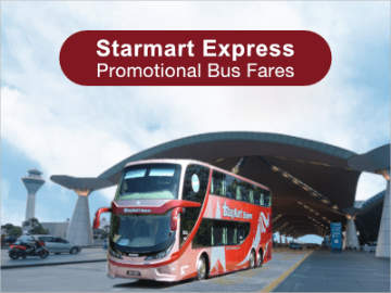 Starmart Express Promo Fares from Singapore to KL, Genting