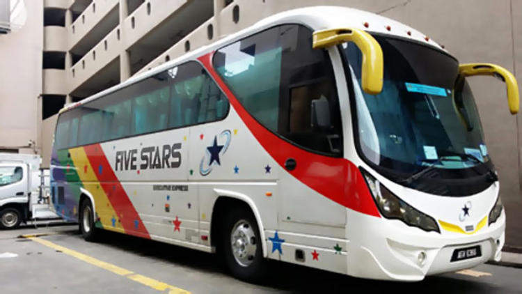 The One Travel & Tours Five Stars Express Bus
